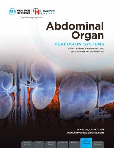 ABDOMINAL ORGAN PERFUSION SYSTEMS