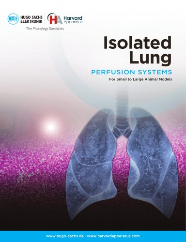 ISOLATED LUNG PERFUSION SYSTEMS
