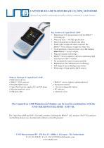 CapnoTrue® aMp MainsTreaM Co2 /spo2 MoniTors