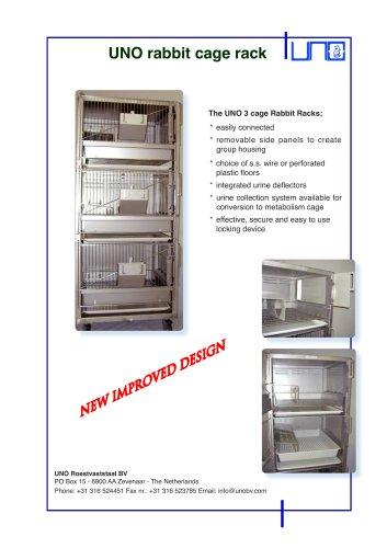 UNO rabbit cage rack