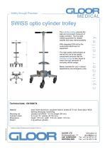 SWISS optio cylinder trolley