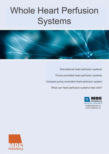 Whole Heart Perfusion Systems