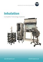 Inhalation Systems for preclinical research