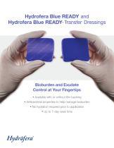 Hydrofera Blue READY and Hydrofera Blue READY- Transfer Dressings