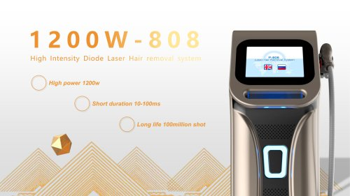 1200W 808 laser hair removal machine