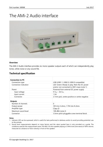 AMi-2 Audio interface