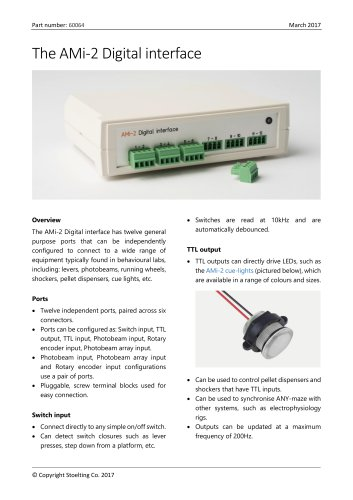 AMi-2 Digital interface