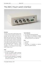 AMi-2 Touch switch interface
