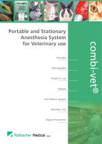 Portable and Stationary Anesthesia System for Veterinary use