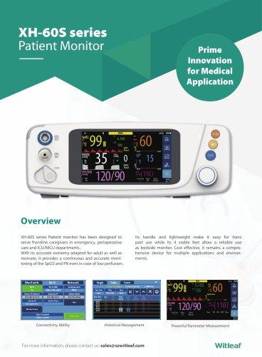 NEW XH-60 Vital Signs Monitor