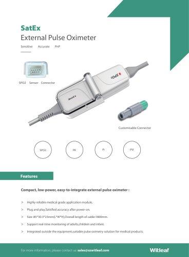 SatEx External Pulse Oximeter