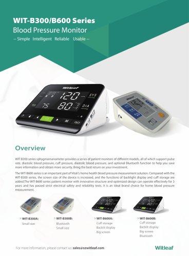 WIT-B300 600Blood Pressure Monitor
