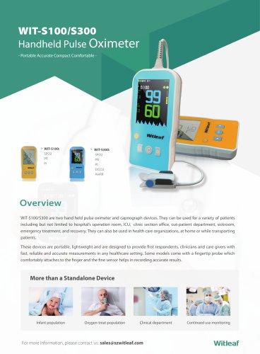 WIT-S100 300 Handheld Pulse Oximeter