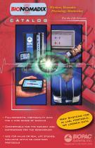 BioNomadix Wireless Wearable Physiology catalog