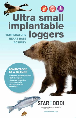 Ultra small implantable loggers
