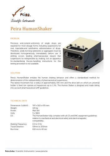 Peira HumanShaker
