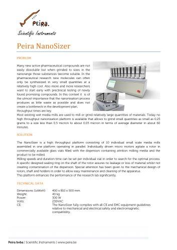 Peira NanoSizer