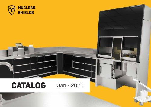 Nuclear Shields catalog - 2020-01