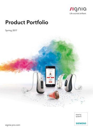 Product Portfolio Spring 2017
