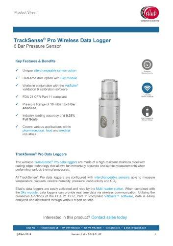 6 Bar Pressure Sensor