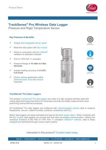 Pressure and Rigid Temperature Sensor