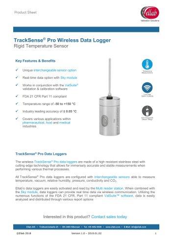 Rigid Temperature Sensor