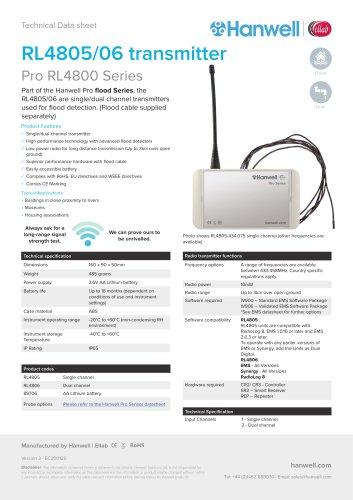 RL4805/06 transmitter