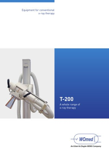 Equipment for conventional x-ray therapy T-200
