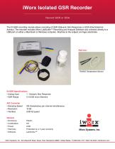 iWorx Isolated GSR Recorder