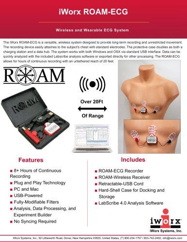 iWorx ROAM-ECG