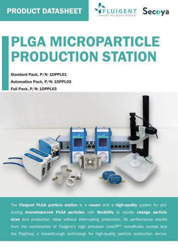 Plga Microparticle Production Station Fluigent Pdf Catalogs Technical Documentation