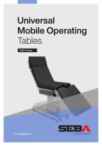 Universal Mobile Operating Tables