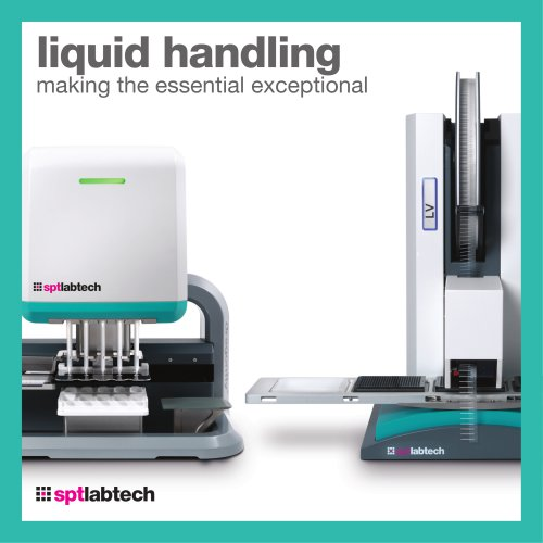 liquid handling making the essential exceptional