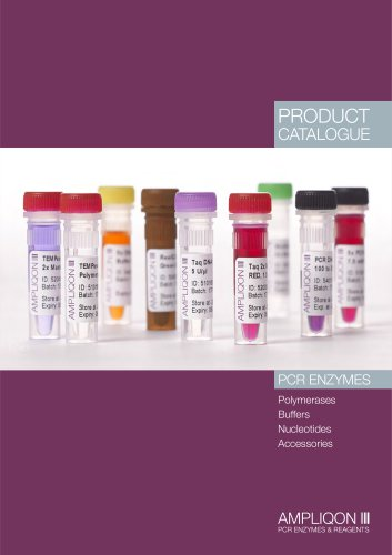 Ampliqon PCR Enzymes Catalogue