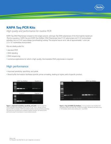 KAPA Taq PCR Kits