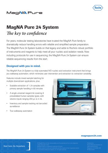 MagNA Pure 24 Flyer