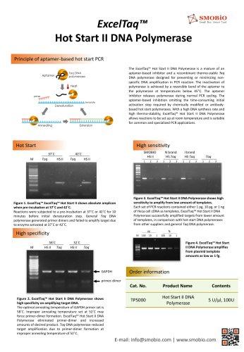 ExcelTaq™ Hot Start II DNA Polymerase