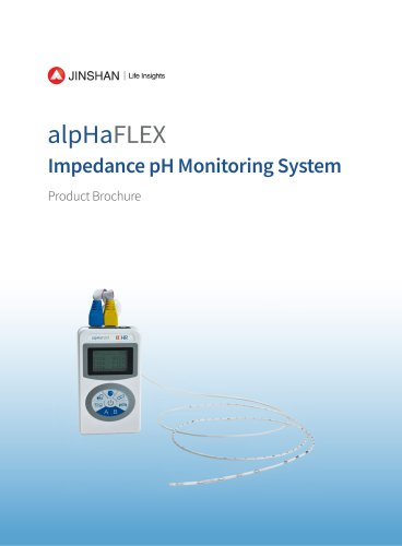 alpHaFLEX Impedance pH Monitoring System brochure