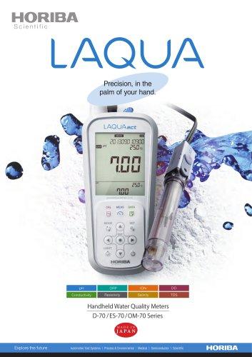 Handheld Water Quality Meters D-70 / ES-70 /OM-70 Series