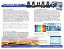 GeneTouch™ and GenePro™ - 2
