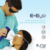 Dry-eye syndrome treatment using intense pulsed light technology