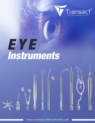 Eye Instruments Catalogue