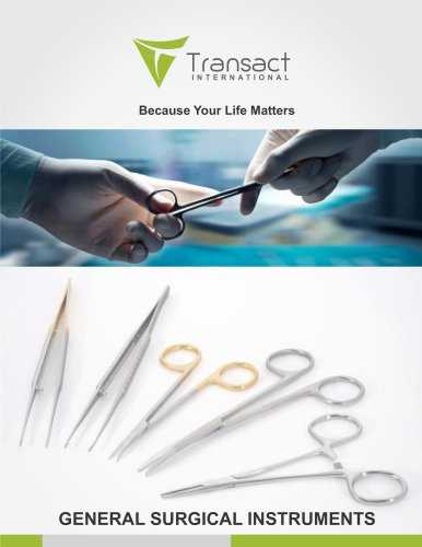 Surgical catalog