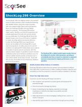 ShockLog 298 impact data logger for medical device supply chain