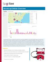 ShockLog Cellular Impact Monitor with real-time damage alerts and visualization on the SpotSee Cloud for the medical device supply chain