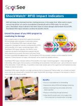 ShockWatch RFID Combination Impact Indicator - RFID Tag for medical device supply chains