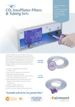 CO2 Insufflator Filters & Tubing Sets Flyer
