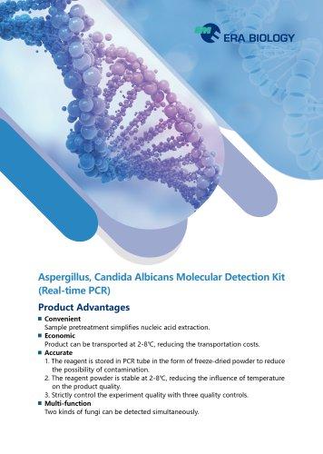 Era Biology Aspergillus Candida Albicans Molecular Detection Kit Real-time PCR