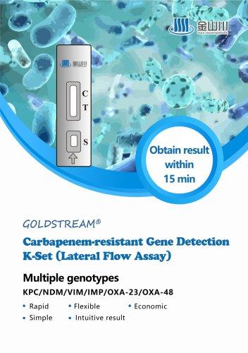 GOLD MOUNTAINRIVER Carbapenem-resistant Gene Detection K-Set Lateral Flow Assay