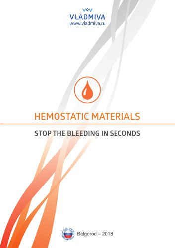 HEMOSTATIC MATERIALS